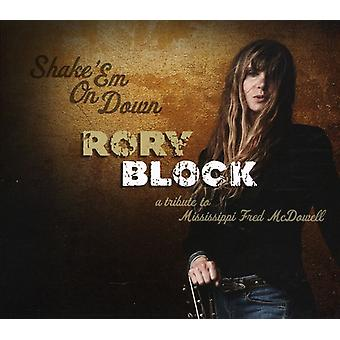 Rory Block - Shake 'Em on Down: A Tribute to Mississi [CD] USA import