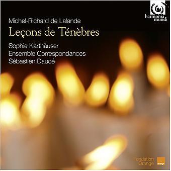 De Lalande / Dauce, Sebastien - Lecons De Tenebres [CD] USA import