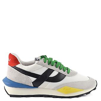 Ash SPIDER Multicolour Eco Trainers In Grey Suede