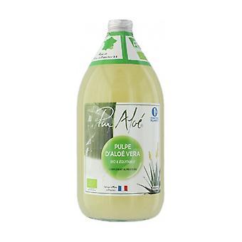 Organic pasteurized Aloe Vera pulp to drink 980 ml