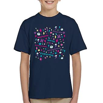 My Little Pony Cutie Marks Montage Kid's T-Shirt