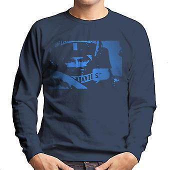 Motorsport Images Damon Hill Helmet Pop Art Men's Sweatshirt