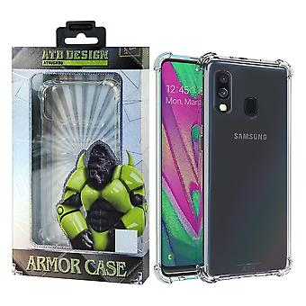 Samsung A50 Hoesje Transparant - Anti-Shock