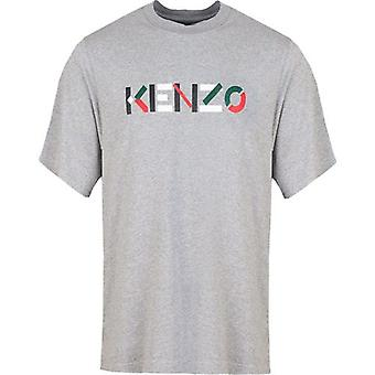 Kenzo Embroidered Chest Logo T-Shirt