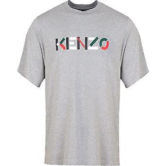 T-shirt Logo poitrine brodée Kenzo