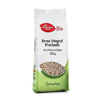 Organic Puffed Brown Rice 125 g