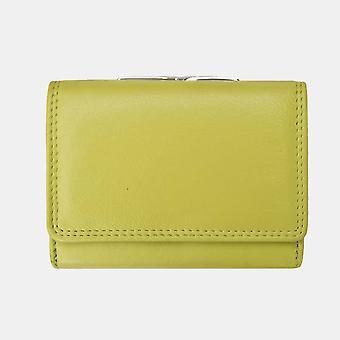 Primehide klipp toppramme dame lær vesken lommebok RFID blokkerer damer 2321