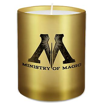 Harry Potter Ministry of Magic Glass Votive Candle by Insight Editions