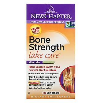 New Chapter, Bone Strength Take Care, 180 Slim Tablets