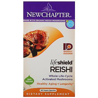 New Chapter, LifeShield, Reishi, 60 Vegan Capsules