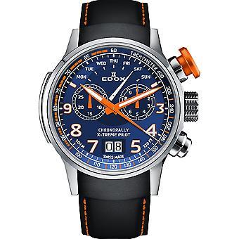 Edox 38001 TINO BUO3 Herren Chronorallye Uhr