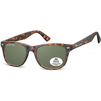 Sunglasses Unisex Havana Traveler Flamed Brown (MP10)
