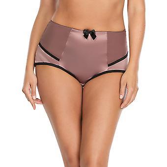 Parfait 6917 Women's Charlotte Woodrose Purple and Black Full Panty Highwaist Brief
