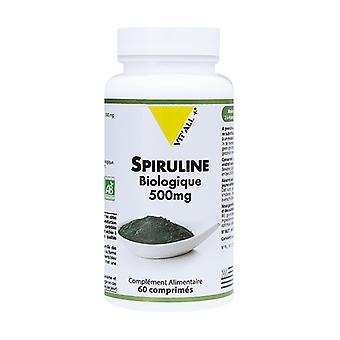Organic Spirulina 500mg 60 tablets