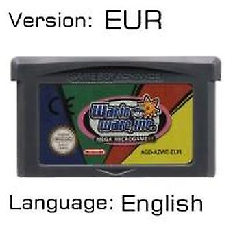 32 Bit Video Game Cartridge Console Card For Nintendo Gba Mariold Kart Golf Tennis Party Luig Us/eu Version