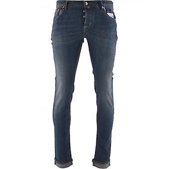Jacob Cohen 622 Begränsad upplaga Blå Comfort Stretch Jean