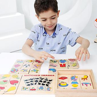 Puzzle-uri din lemn Hand Grab Placi - Educational