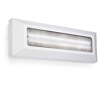 Outdoor LED Wall Surface Mounted Light Grey 8cm 396lm 3000K IP65