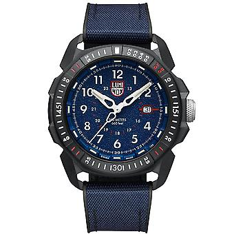 Luminox Ice-Sar Arctic Blue Dial Black Rubber Strap Quartz Men's Watch XL.1003.ICE