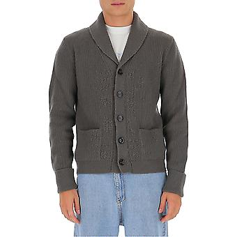 Tom Ford Bvk82tfk154s08 Men's Grey Cashmere Cardigan