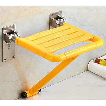Wall Mounted Shower Bathroom Chair Folding Seat For Bathing Saving Space