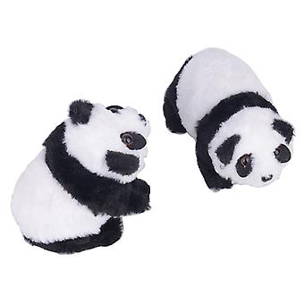 Adorable Electric Musical Animal Walking Panda -toy Educational For Baby Kids