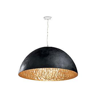 Magma-p Black And Gold Pendant Lamp
