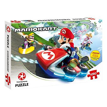 Nintendo Mario Kart Funracer 1000 Parçalı Yapboz