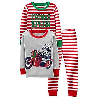Simple Joys by Carter's Baby, Little Kid, and Toddler Boys' 3-Piece Snug-Fit ...