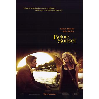 Before Sunset Movie Poster Print (27 x 40)