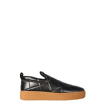 Bottega Veneta 639736v02x01060 Men's Black Leather Slip On Sneakers