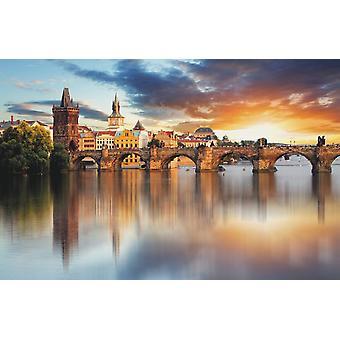 Wallpaper Mural Prague - Charles Bridge (400x260 cm)