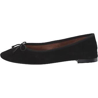 Aerosoles Women's Homerun Ballet Flat, Black Suede, 10