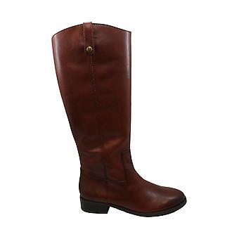 INC internationale begreber dame Fawne læder lukket tå knæ høj mode...