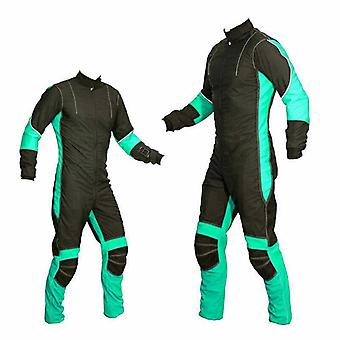 Freefly skydiving suit turquoise se-01