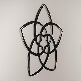 Venus Flower Shape Metal Wall Art