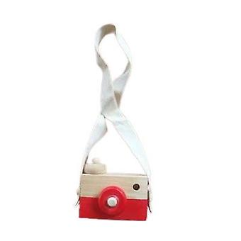 Baby Wooden Toy, Nordic Hanging Camera Prop Decoration