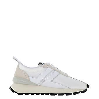 Lanvin Skbrucddragh2001 Kvinnor's Vita Polyester Sneakers