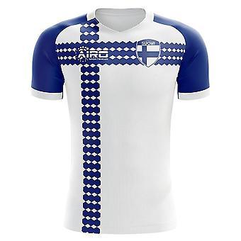 Finnland 2020-2021 Home Concept Football Kit (Airo) - Kinder