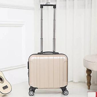 תא מזוודה עם תיק עגלות גלגלים להמשיך מתגלגל מזוודות באג עגלה