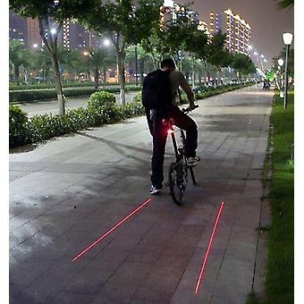 الدراجة ليزر الذيل ضوء