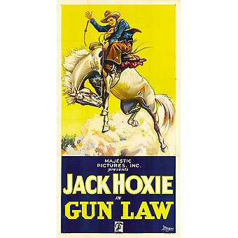 Pistolet droit Jack Hoxie 1933 Movie Poster Masterprint