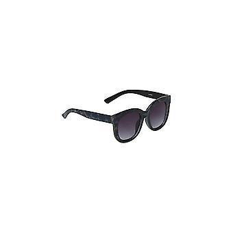 Louche Womens Zabi Glitter Tortoise Shell Sunglasses Blue