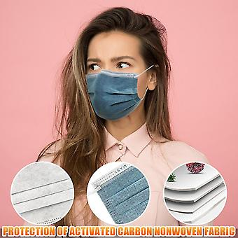 Activated Bamboo Carbon - Unisex Disposable Face Mask