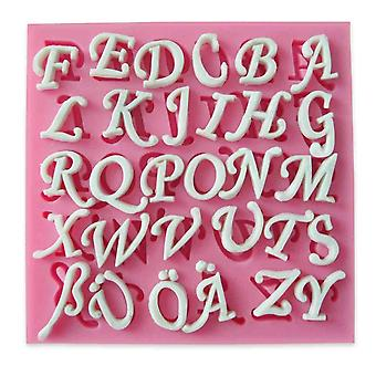 Silicone Mold With 30 Holes Inc. Letters � � � � Cutters Fondant Alphabet Wedding Cookies