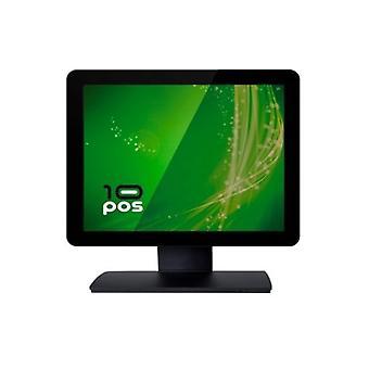 """צג מסך מגע 10POS TS-15FV 15"""" LCD שחור"""