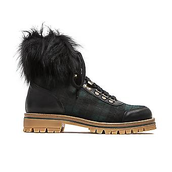 الأخضر الأحذية السيد والسيدة ايطاليا المرأة