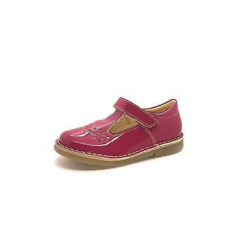 PETASIL Tbar Shoe Cecily Fuchsia Pink Patent