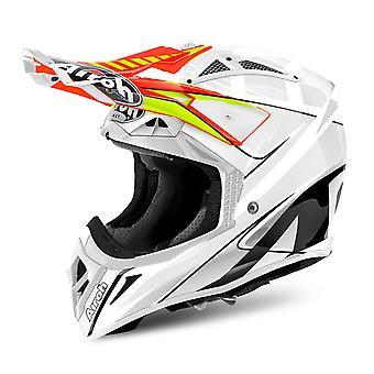 Airoh Aviator 2 2 Motorcycle Helmet Replacement Peak Double Orange PEAK ONLY