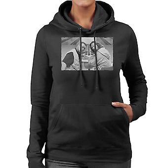 The Big Lebowski The Dude en Walter Bowling Alley Greyscale Women's Hooded Sweatshirt
